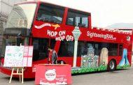 اتوبوس های دو طبقه گردشگری پیش از عید در تهران