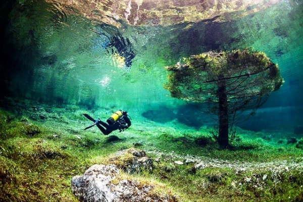 پارک زیر آب در اتریش